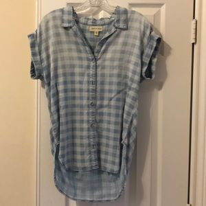 NWOT Cloth and Stone button down top size small